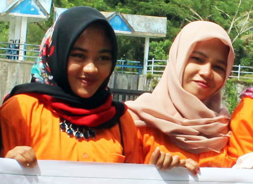 An All-Women Working Group for Orangutan Protection  Established for the First Time Ever in Aceh (December 19, 2016)