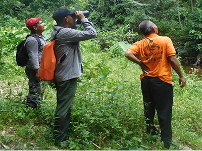 Joint Patrol at Gunung Leuser N.P. (June 30, 2018)