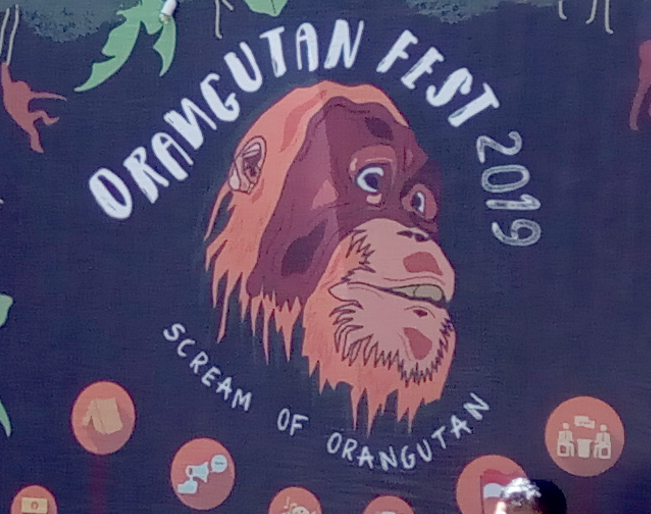 Orangutan Festival 2019 at Grand Forest Park Bukit Barisan, Sumatra (August 17, 2019)