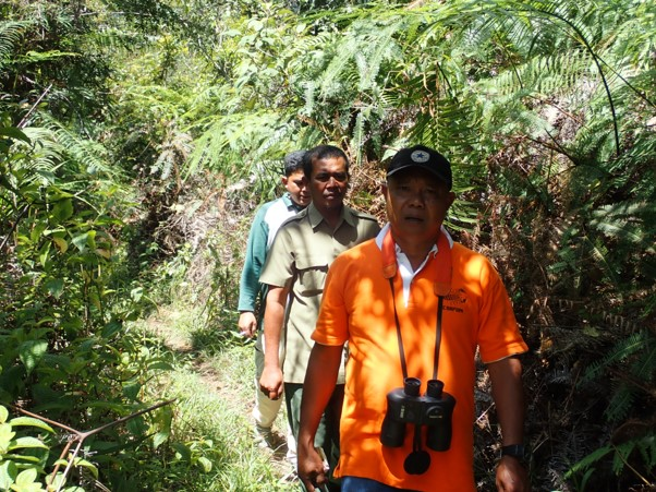 Wildlife Authority (BBKSDA SU) and Scorpion Ranger Carried out Joint Patrol in Dolok Parlimaan North Tapanuli Regency (February 25, 2020)