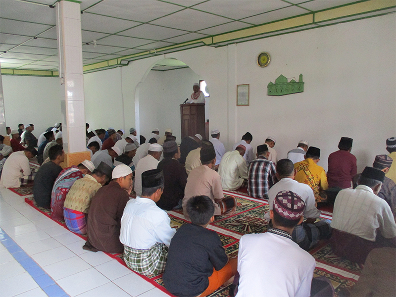 Religious Lecture on the importance of protecting forest and wildlife animal (April 10, 2020)