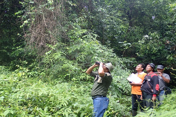 Joint Patrol with Rangers From Gunung Leuser N.P at Bukit Mas Village (June 12, 2020)