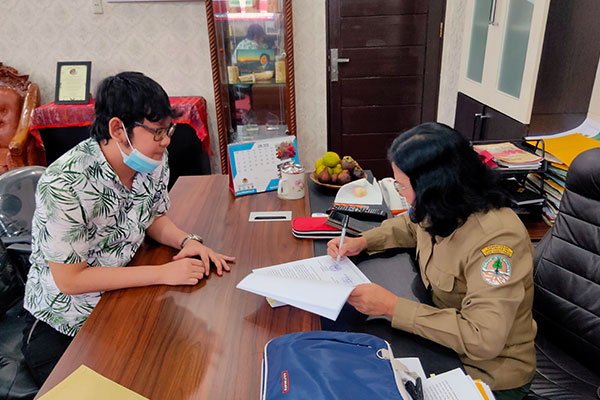 Annual Work Plan with Wildlife Authority (BKSDA) to eradicate wildlife crimes is signed (June 22, 2020)