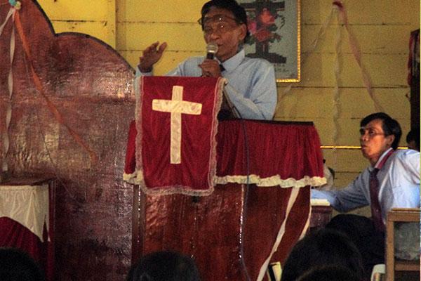 Sosialisation and Awareness Campaigns for Orangutan protection at GKPA Church, Batu Satail Village, South Tapanuli (June 28, 2020)