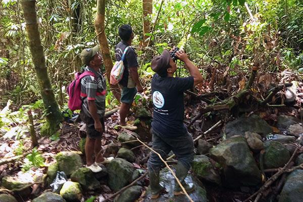 Preventing Tapanuli orangutan capture in Simaninggir Village (September 08, 2020)