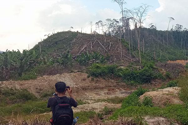 Joint Patrol in Dolok Sanggul Village, Batang Toru Ecosystem, Sumatra (November 14, 2020)