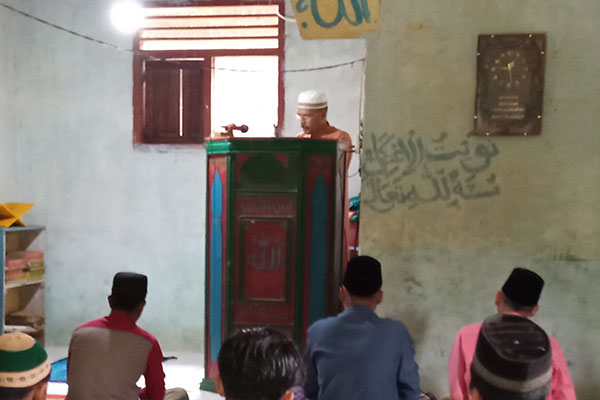 Awareness Campaign for Protection of Tapanuli Orangutan through Islamic Lectures in Maju Mambe Village, South Tapanuli (November 27, 2020)