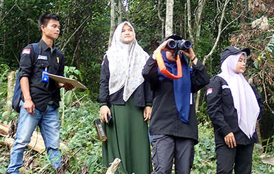 Joint Patrol  to Prevent illegal Hunting of Tapanuli orangutan (March 19, 2020)