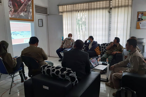 Joint Meeting for Macaque Conservation Programme at BP2LHK Aek Nauli (March 02, 2021)