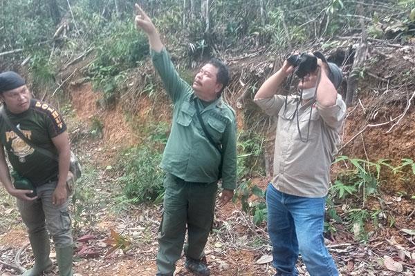 Joint Patrol in Sampean Village, Batangtoru Ecosystem, Sumatra (July 15, 2021)