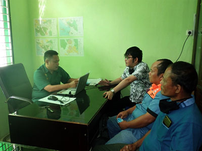 A Meeting between Scorpion Foundation and Forest Management Unit (KPH) XI (August 18, 2020)
