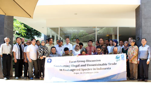 Illegal Wildlife Trade in Indonesia  = CORRUPTION (March 15, 2016)