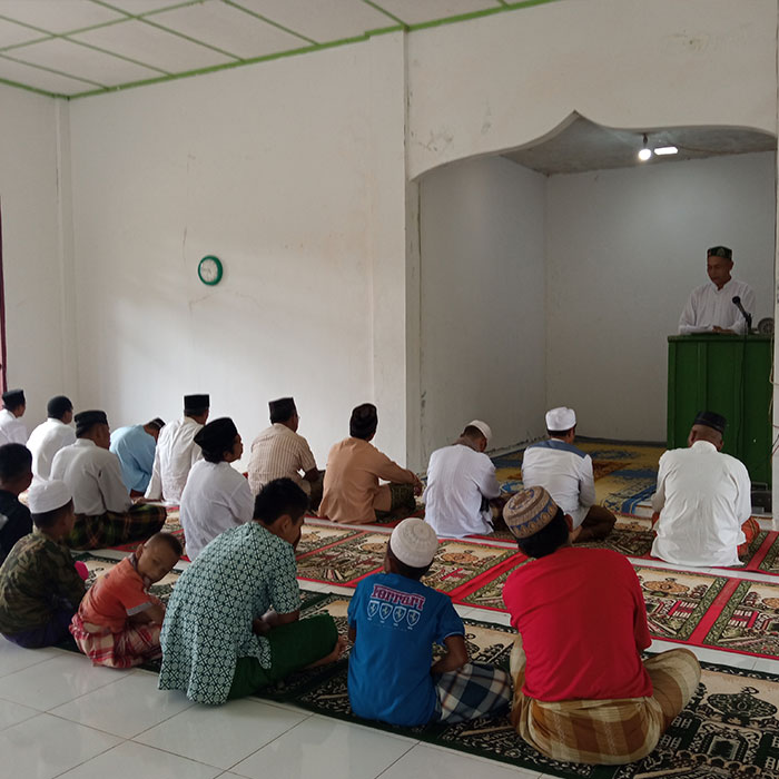 Tapanuli Orangutan Protection Awareness Campaign at Masjid Al-Hidayah, Aek Nabara Village, South Tapanuli Regency (Desember 25, 2020)